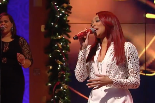 Monica performs on Wendy Williams Show