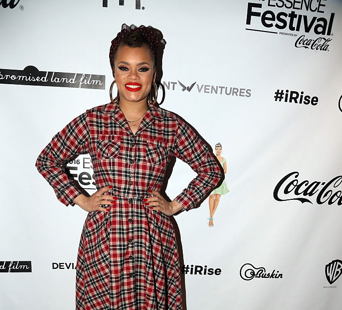 Rise Up Andra Day: Andra Day Launches Rise Up Essence Festival Program In NYC