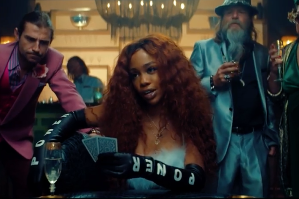 SZA Maroon 5 What Lovers Do video