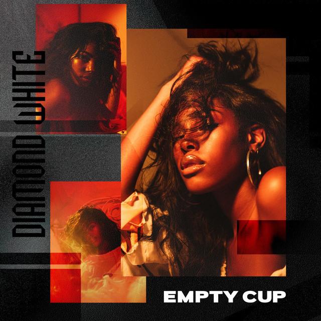 Diamond White Empty Cup