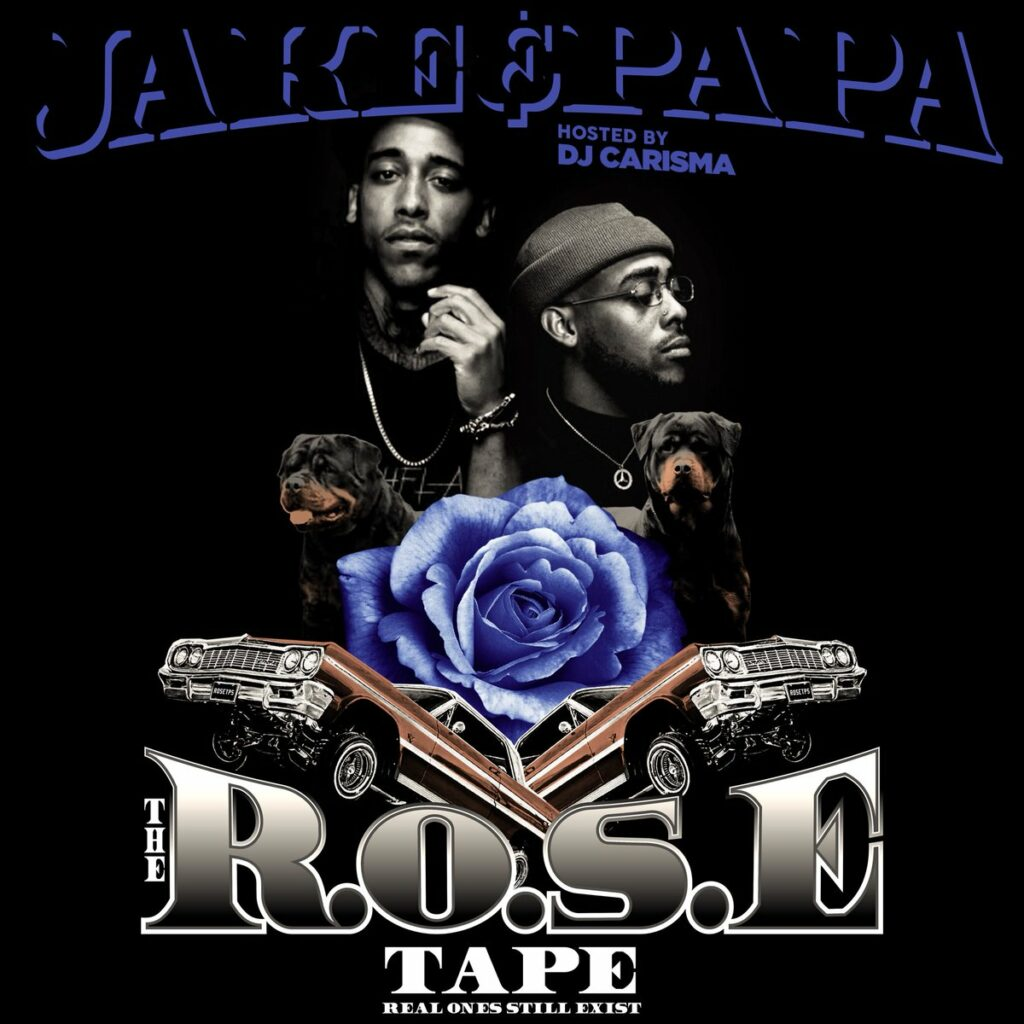 Artwork of Jake&Papa's The R.O.S.E. Tape project