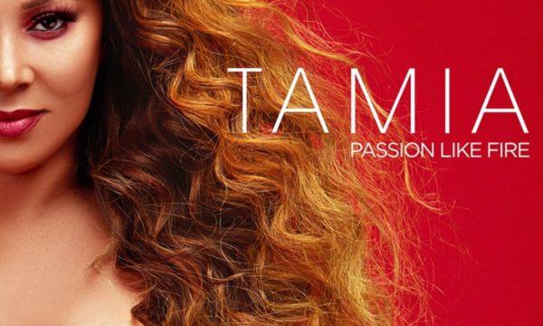 Artwork for Tamia's new album Passion Like Fire