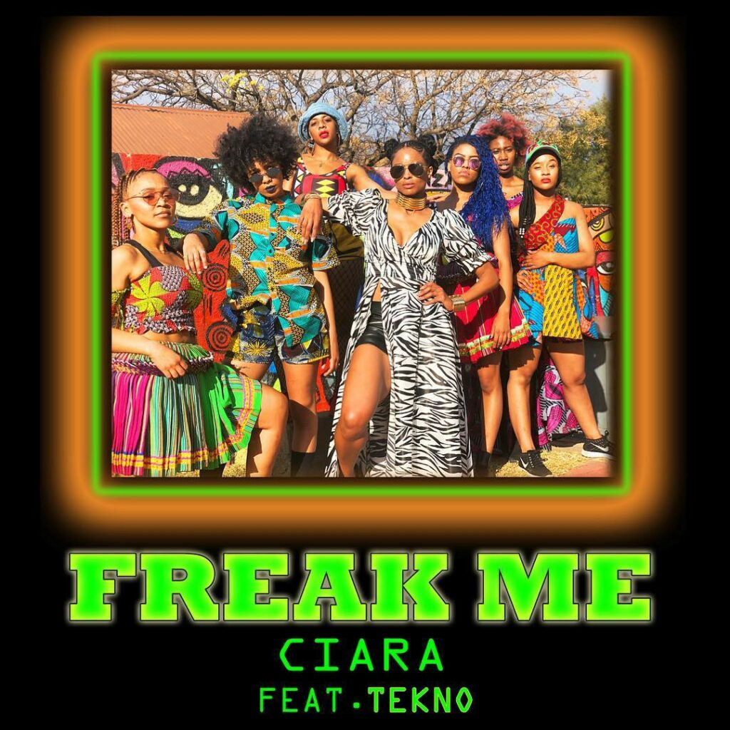 Ciara Freak Me single cover