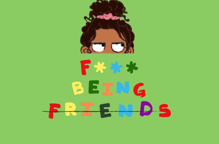 Jessie Reyez' F*ck Being Friends single artwork