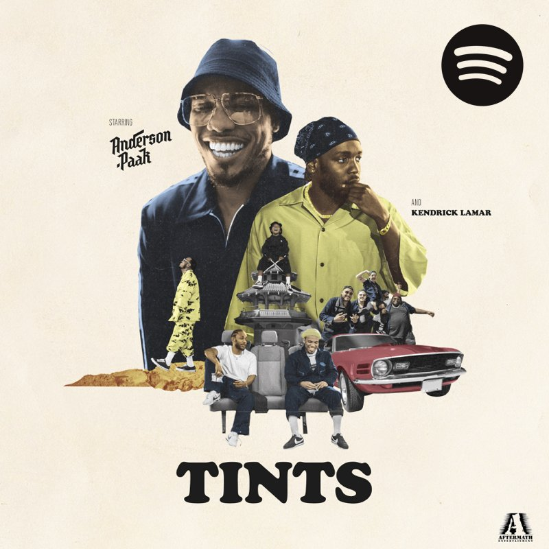 """Anderson Paak """"Tints"""""""