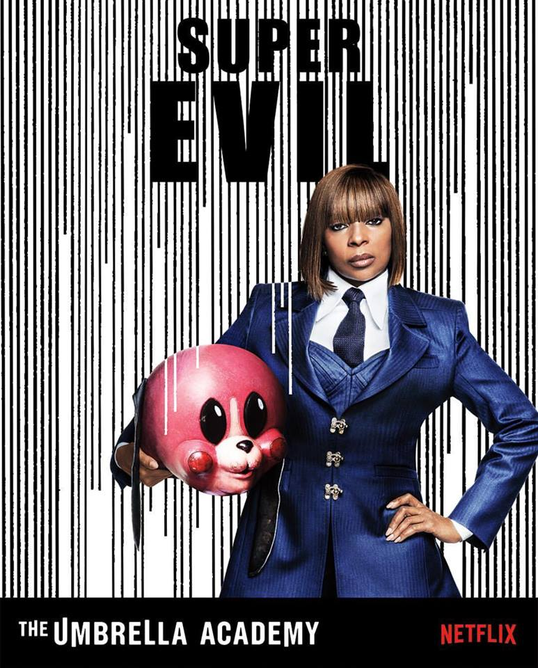 "Mary J. Blige ""The Umbrella Academy"" poster"
