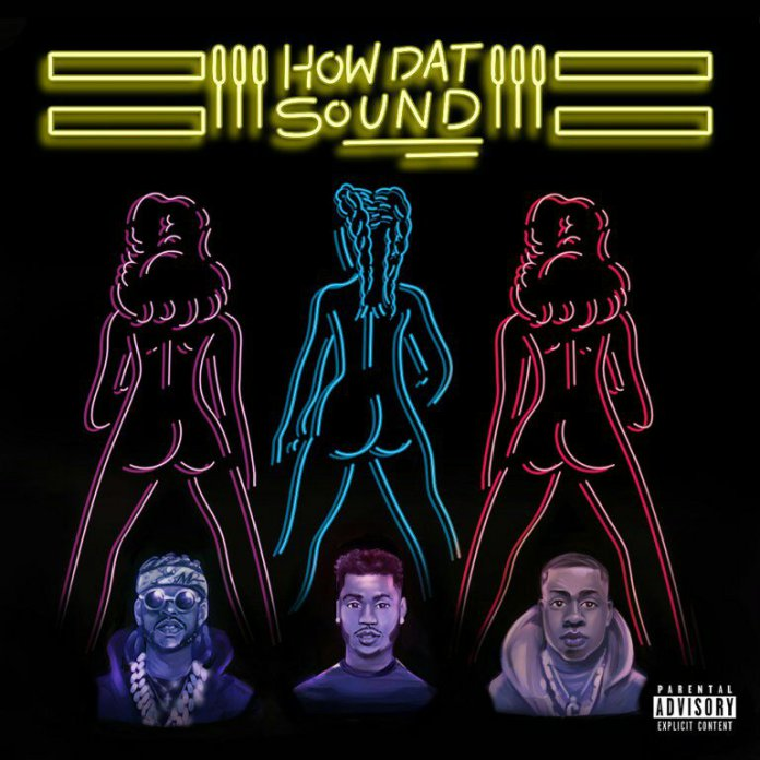 """Trey Songz """"How Dat Sound"""" single cover"""