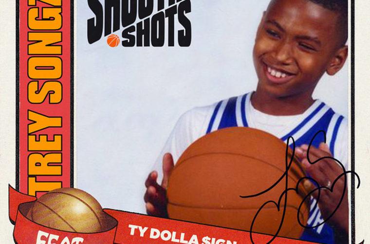 Trey Songz Shootin Shots single artwork