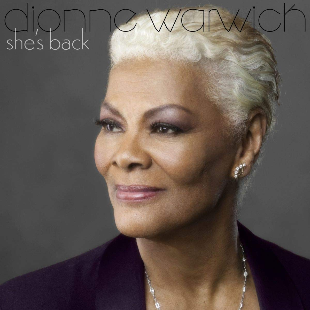 Dionne Warwick She's Back album cover