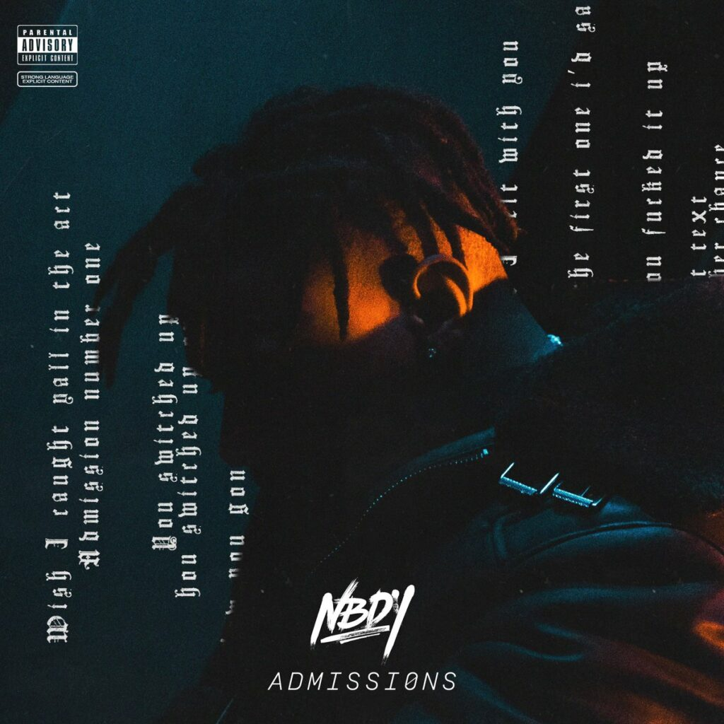 NBDY Admissions EP cover