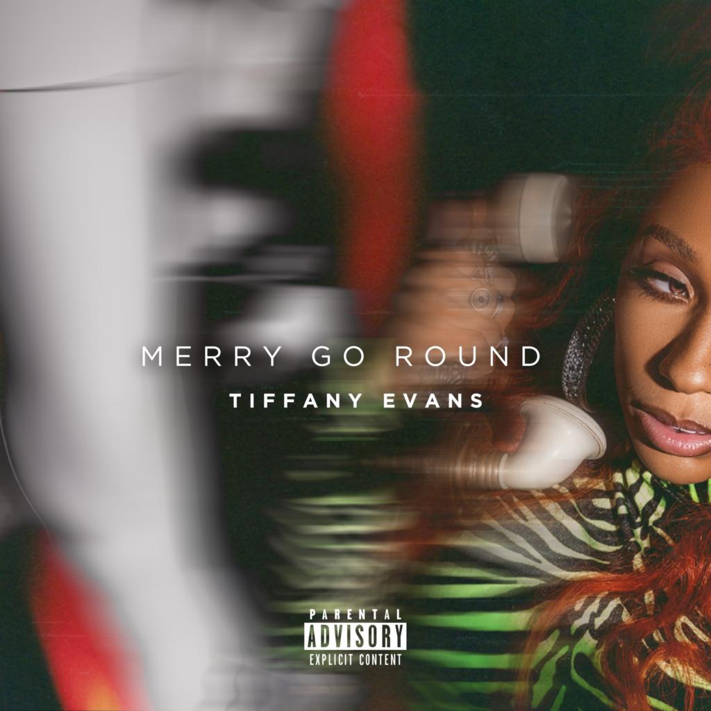 "Tiffany Evans ""Merry Go Round"" single cover"