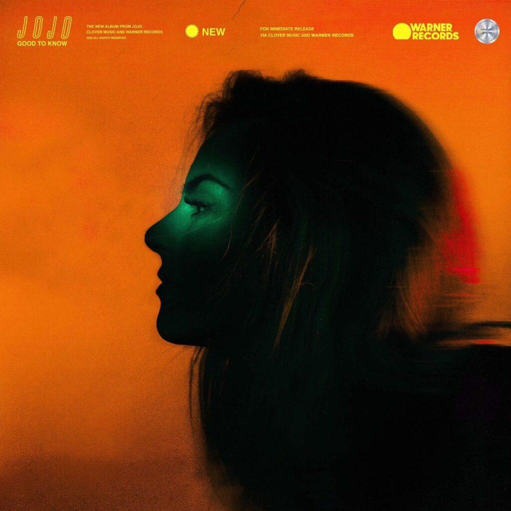 JoJo good to know album cover