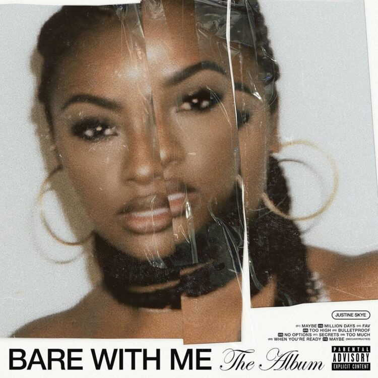 Justine Skye Bare With Me album cover