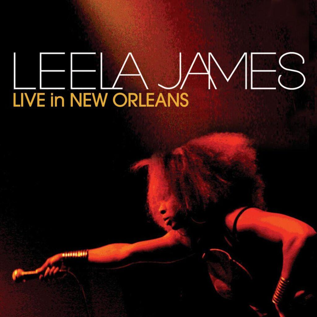 Leela James Live In New Orleans album cover