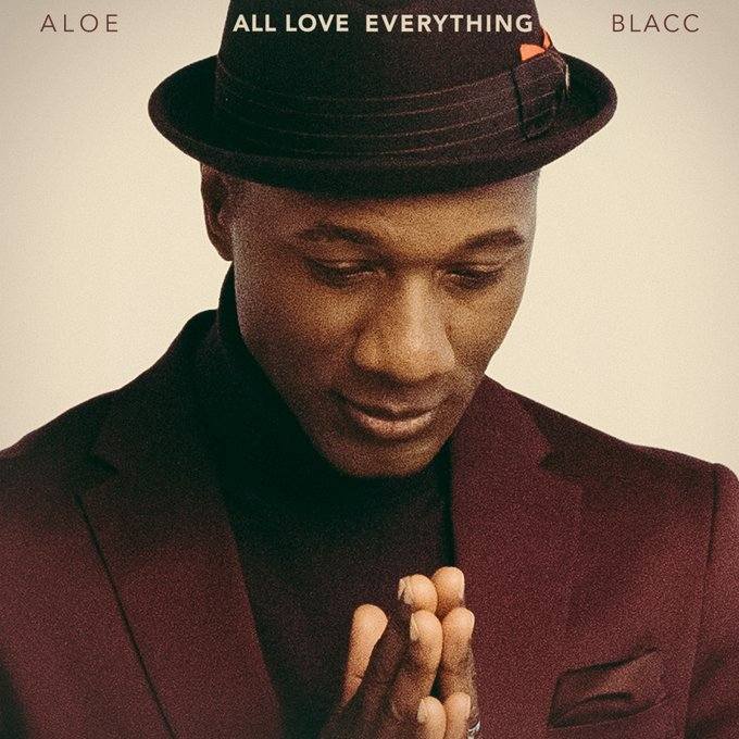 Aloe Blacc Al Love Everything album cover