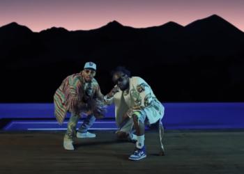 Wale and Chris Brown Angles video